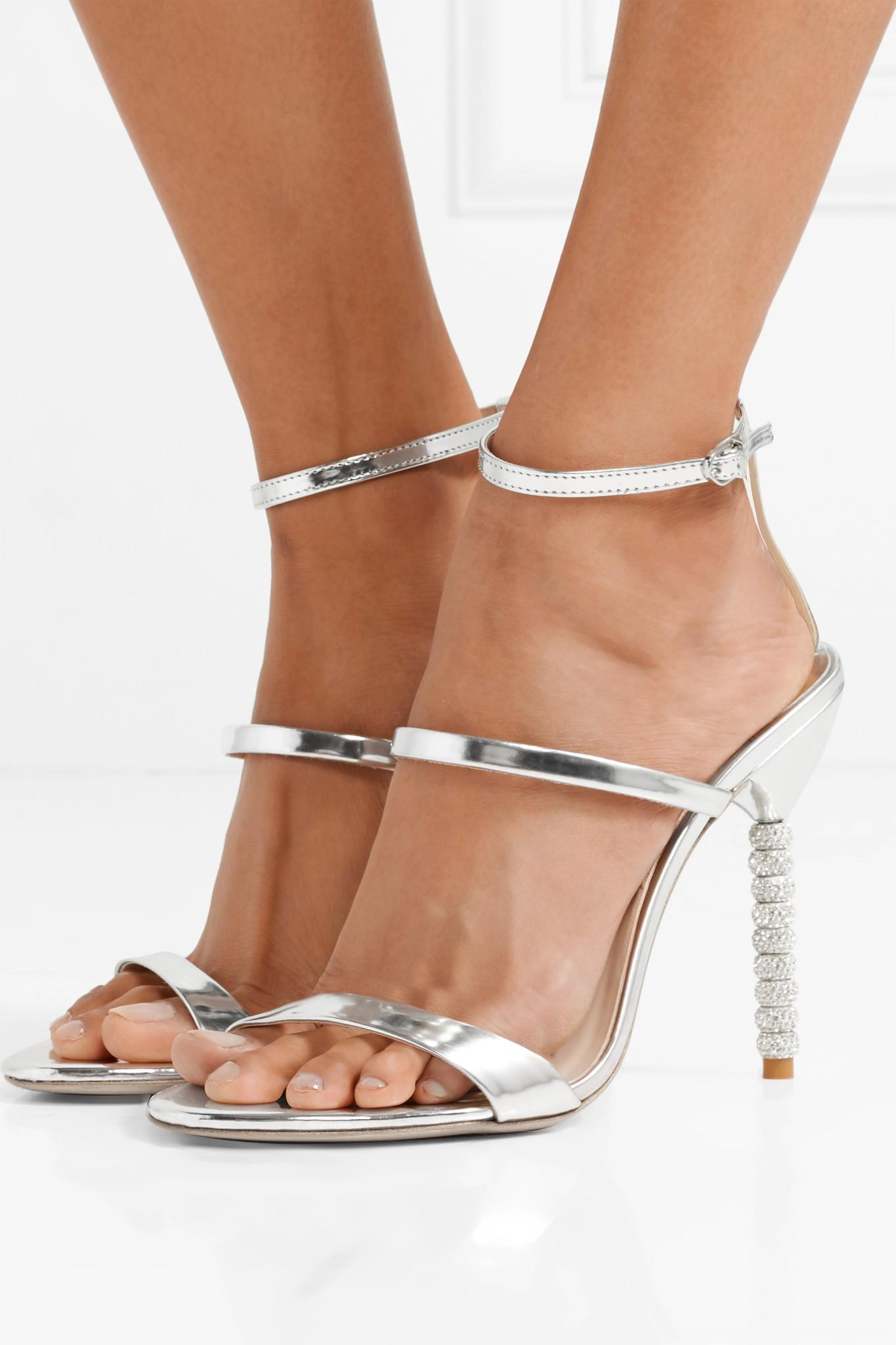 3598873ff Sophia Webster - Metallic  rosalind  Sandals - Lyst. View fullscreen