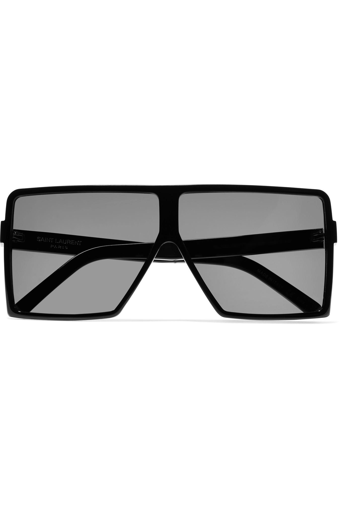 88aff7424d ... Black Betty D-frame Acetate Sunglasses - Lyst. View fullscreen