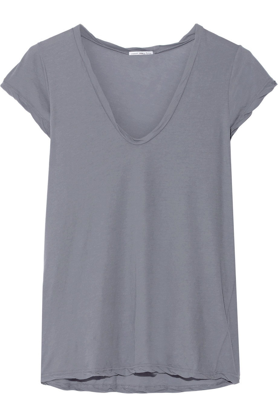 James perse cotton jersey t shirt in blue lyst for James perse t shirts sale