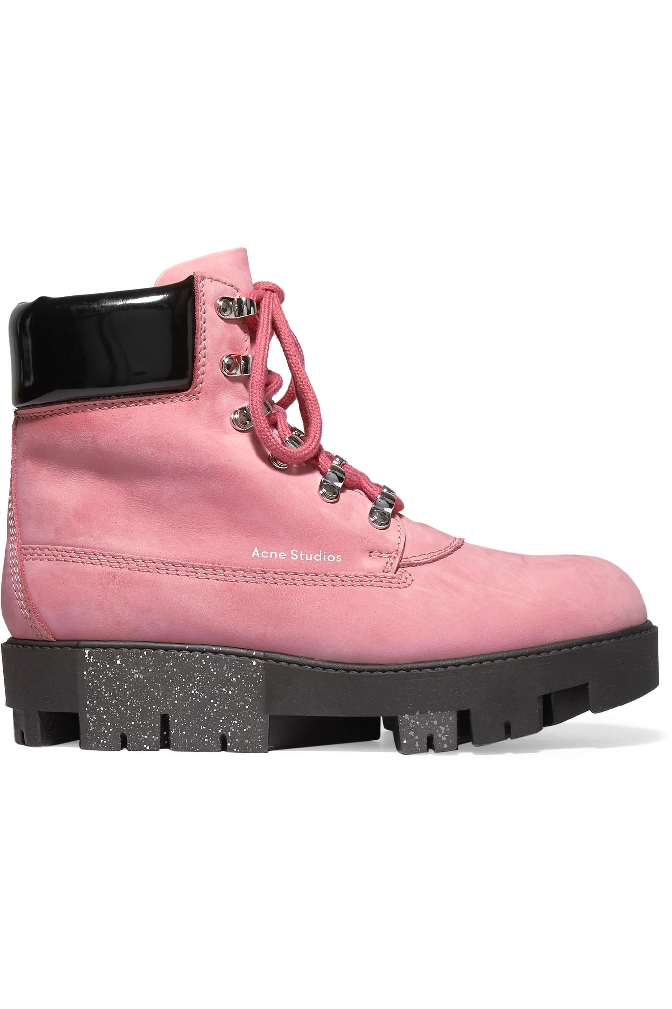 da385f59766 Acne Studios Multicolor - 'telde' Hiking Boots - Women - Leather/patent  Leather/rubber - 39