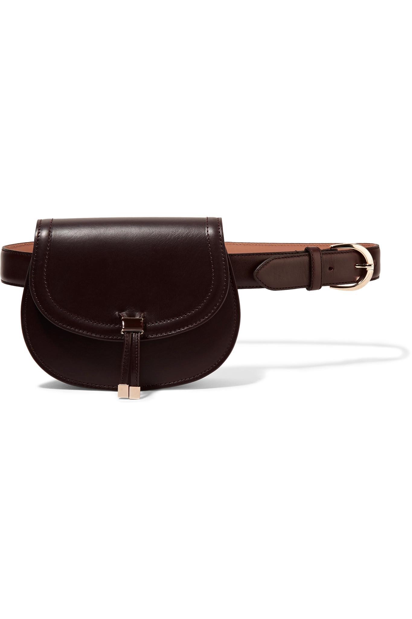 seward clever leather belt bag lyst