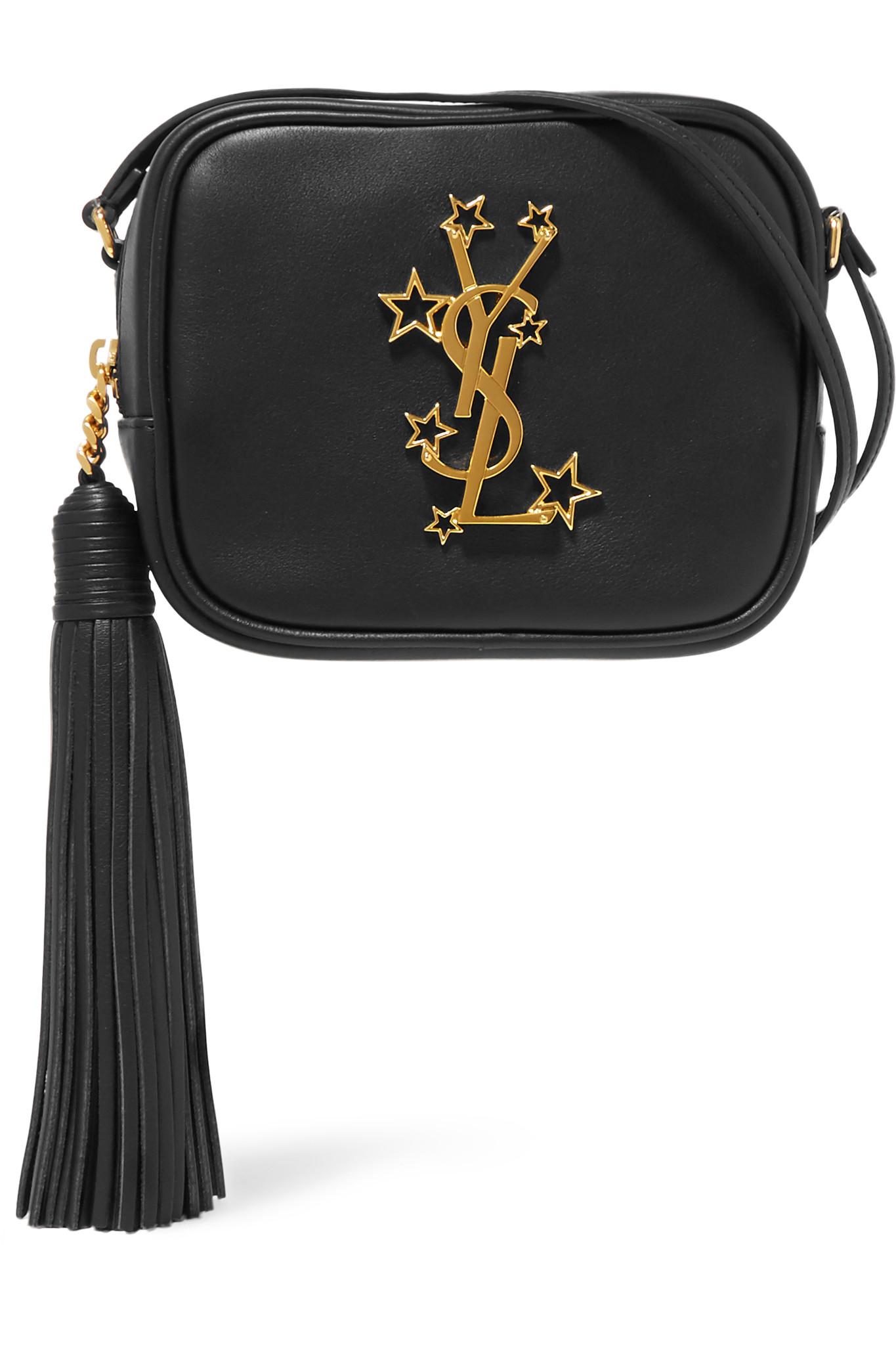 Saint laurent Monogramme Blogger Leather Shoulder Bag in ...