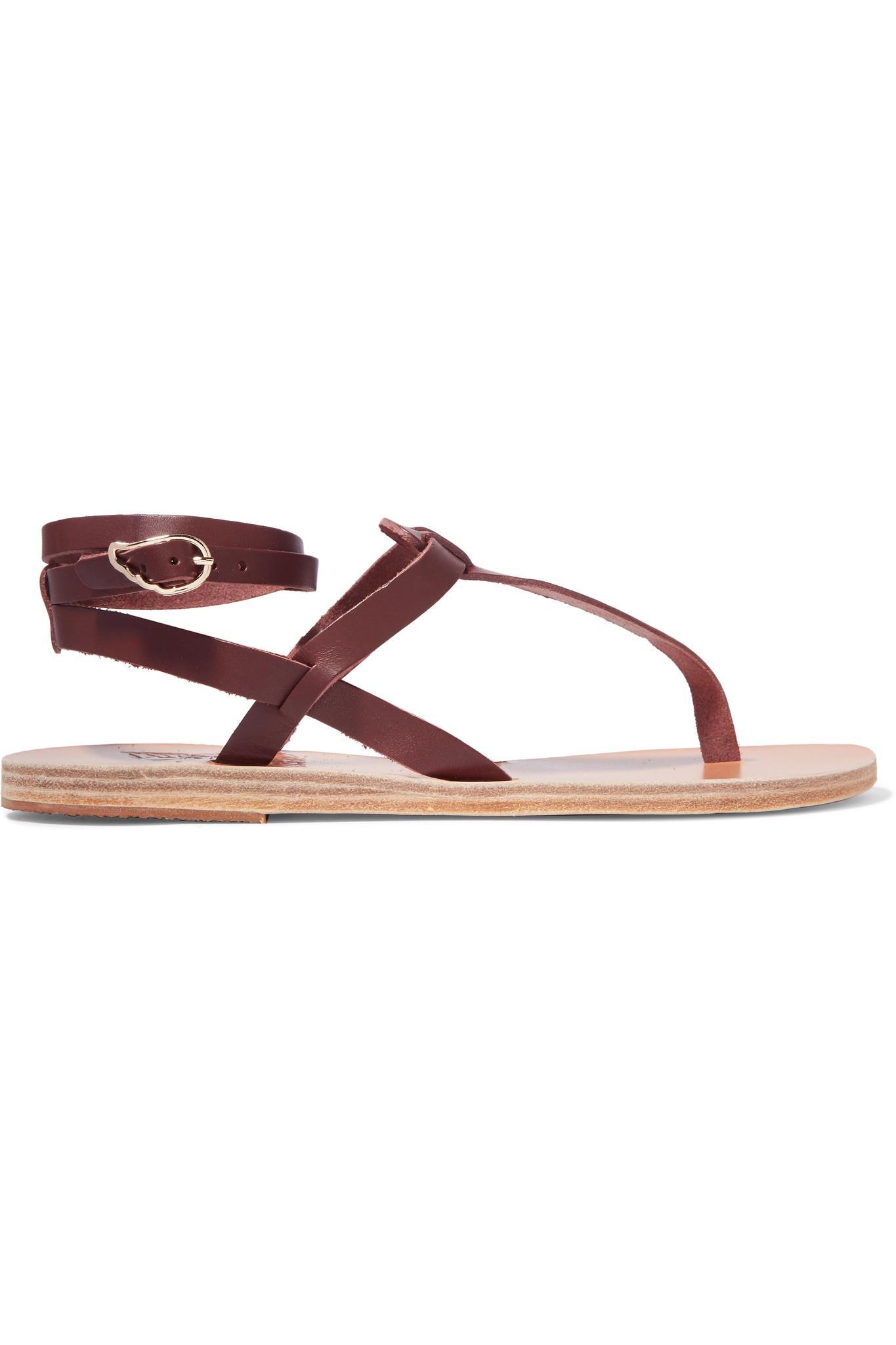 6c0ba6e623fe13 Lyst - Ancient Greek Sandals Estia Leather Sandals in Brown