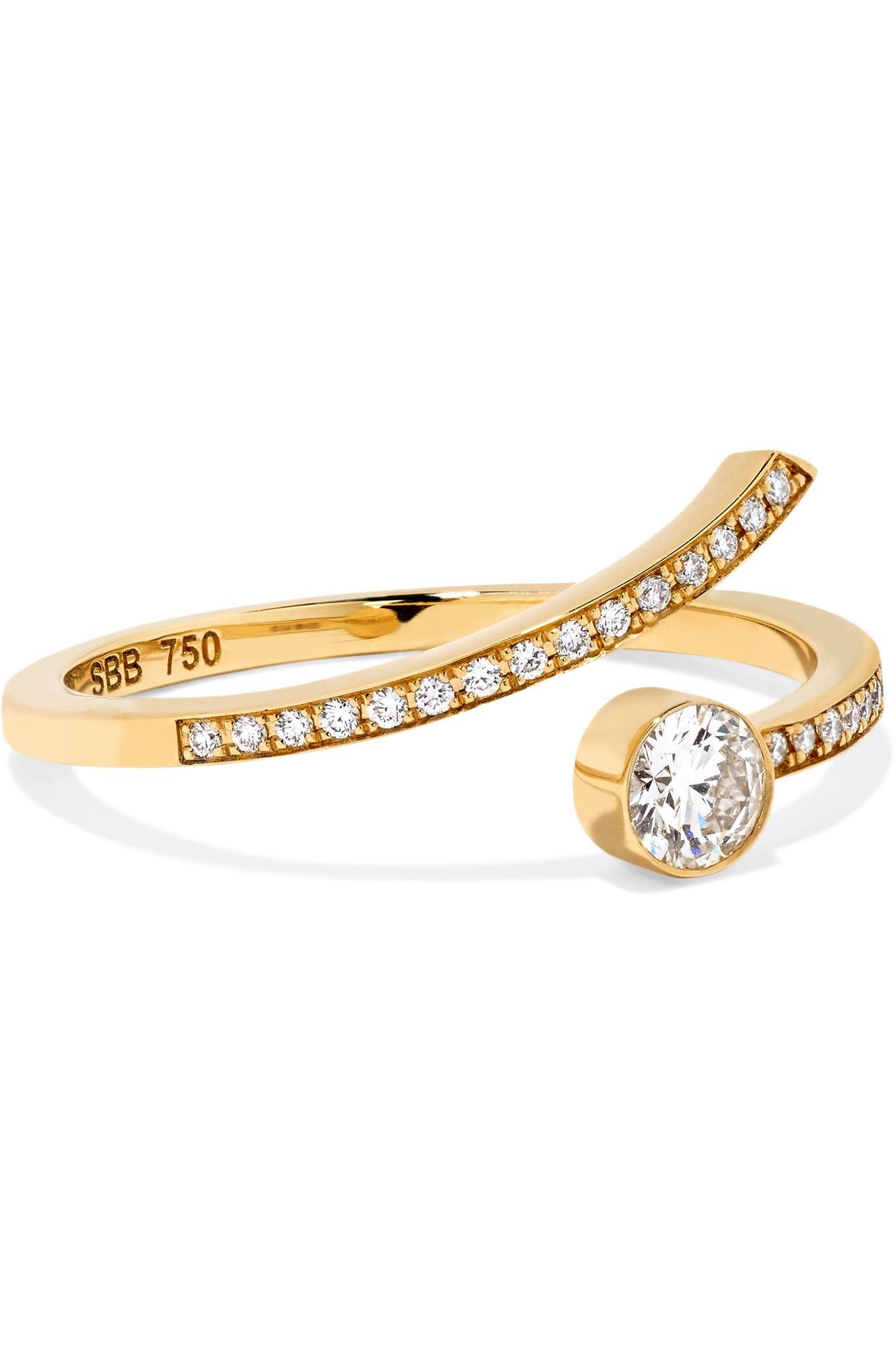 Sophie Bille Brahe Amour 18-karat Gold Diamond Ring LsWuXdwMX
