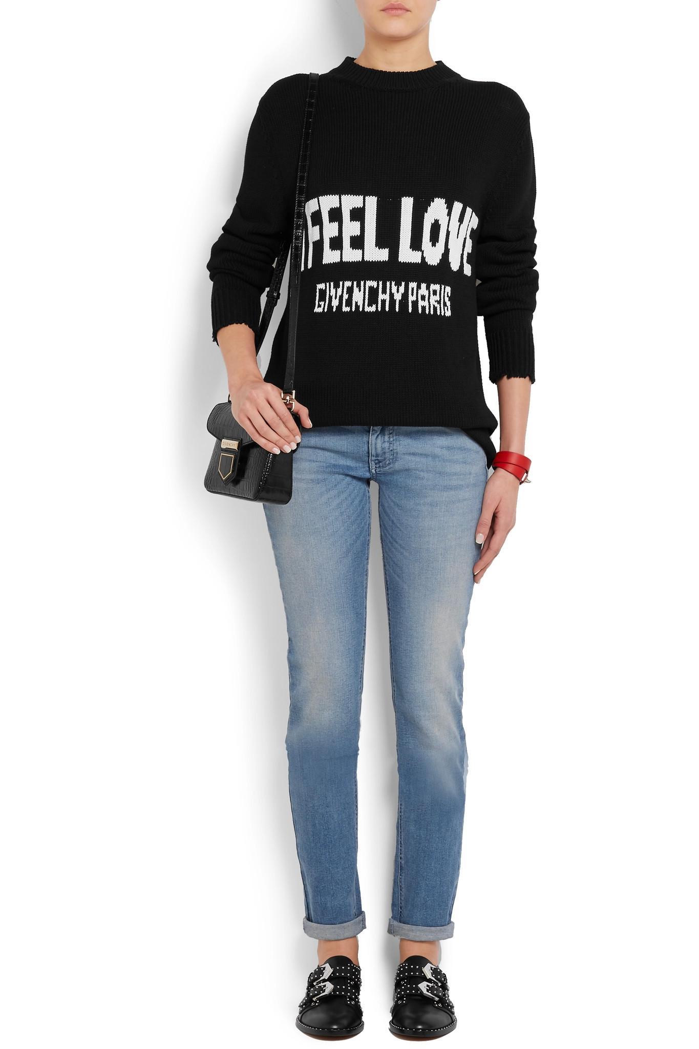 c22c597161c4 Lyst - Givenchy Nobile Mini Croc-effect Glossed-leather Shoulder Bag