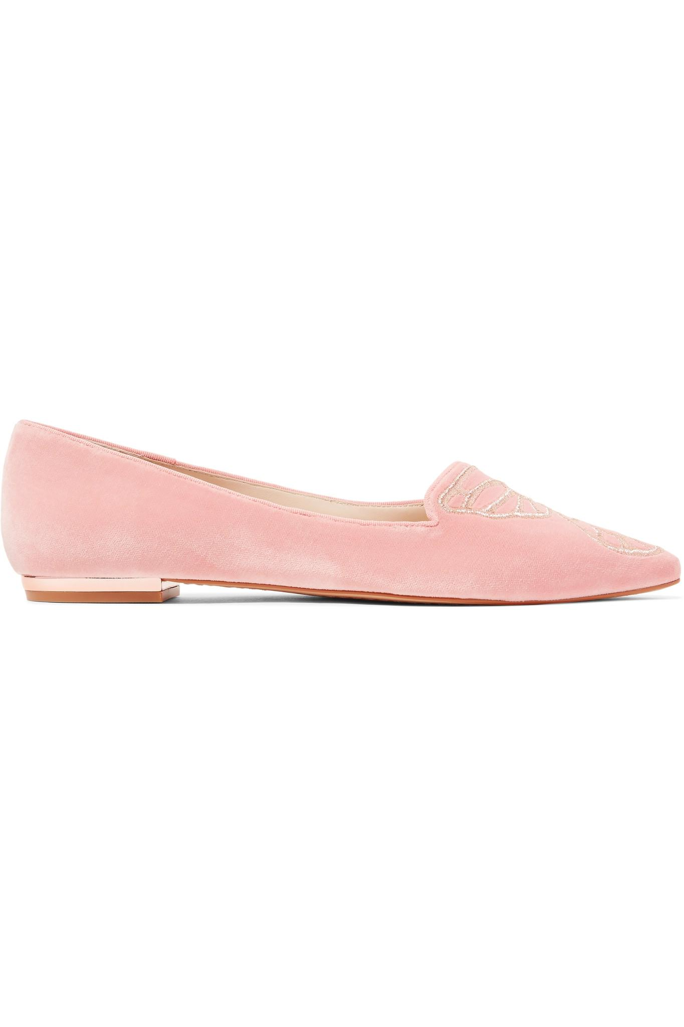 Chaussures plates en daim Bibi ButterflySophia Webster 70D1p