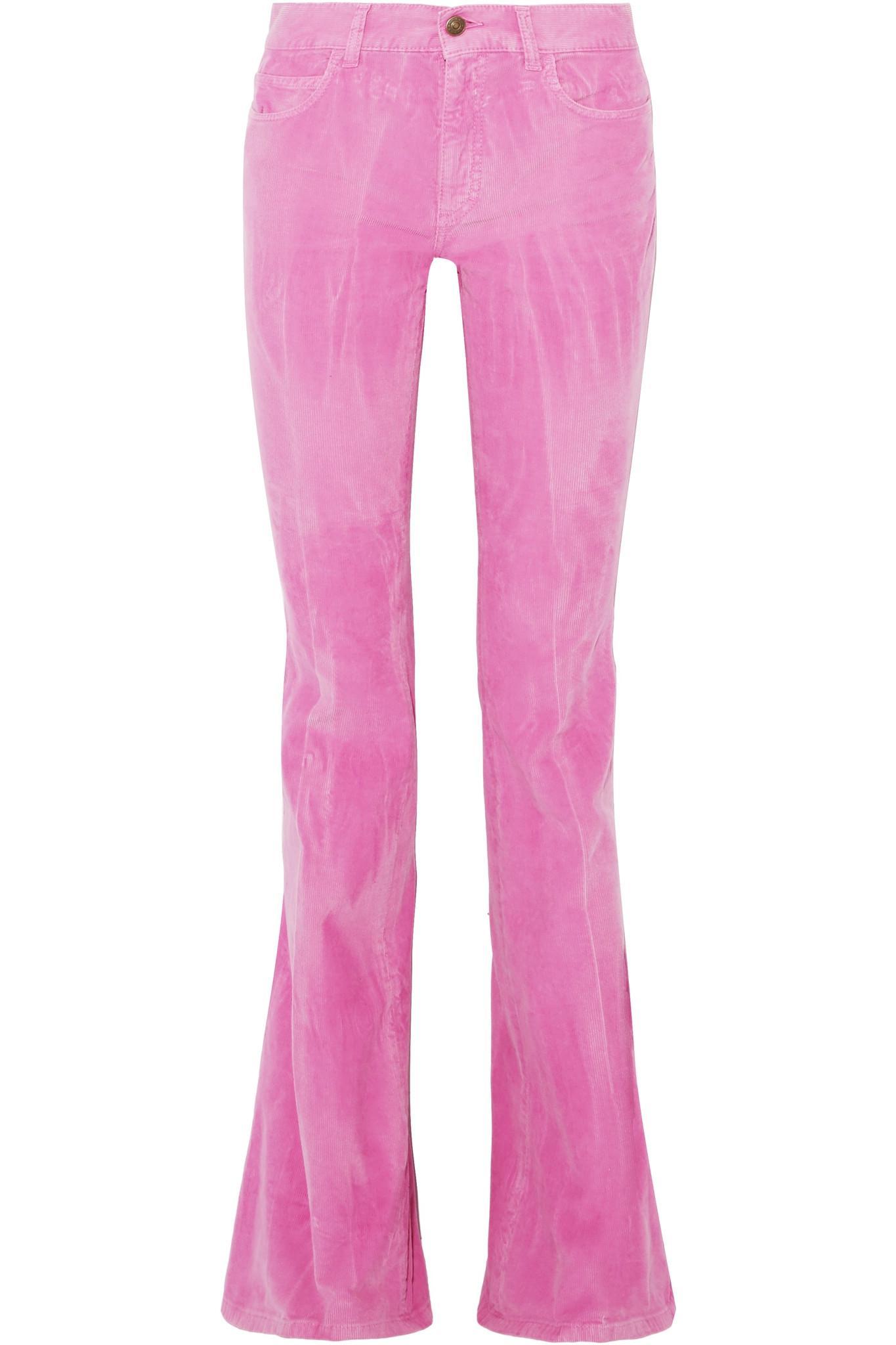 Évasé Pantalon De Velours Gucci ReVRhBVUR