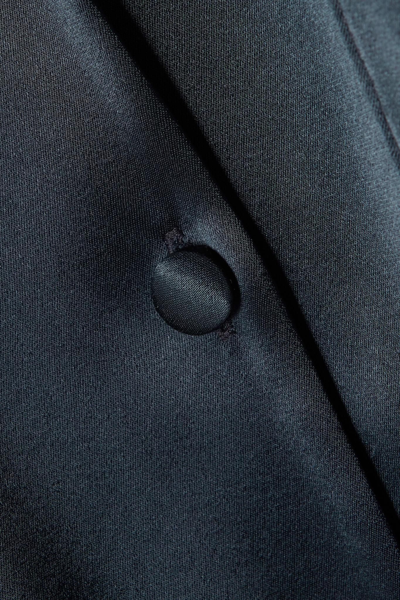 006127aa6aed Nanushka - Blue Yuma Satin Jumpsuit - Lyst. View fullscreen