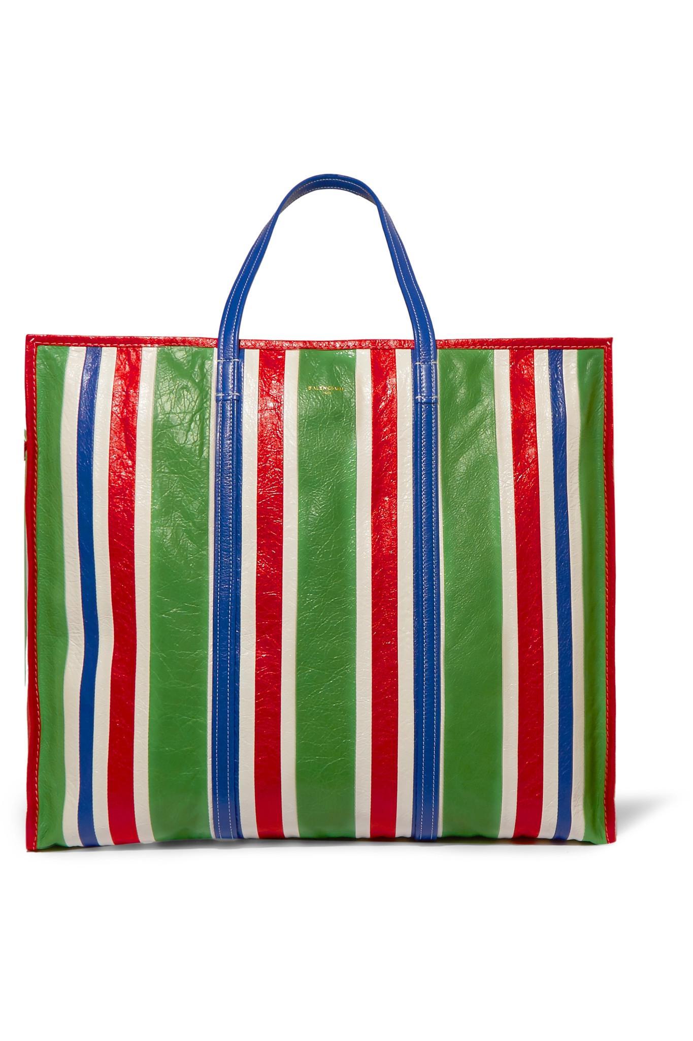 90dc87595 Balenciaga Bazaar Paris Shopper Bag S Green | Stanford Center for ...