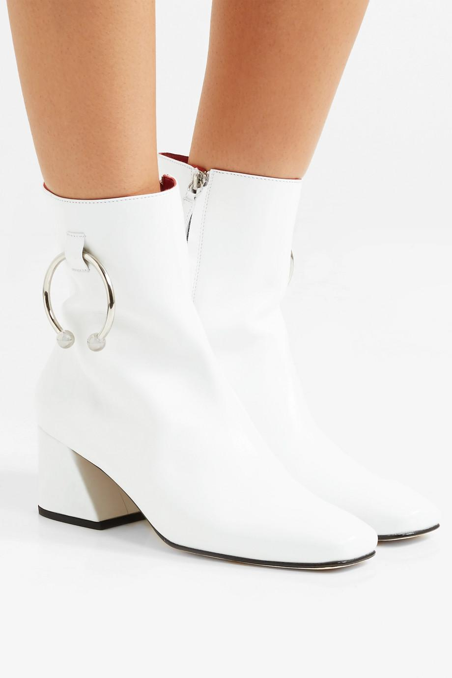DORATEYMUR Nizip Embellished Leather Ankle Boots Buy Cheap 2018 Prices Cheap Sale Clearance Store aooyk9UU
