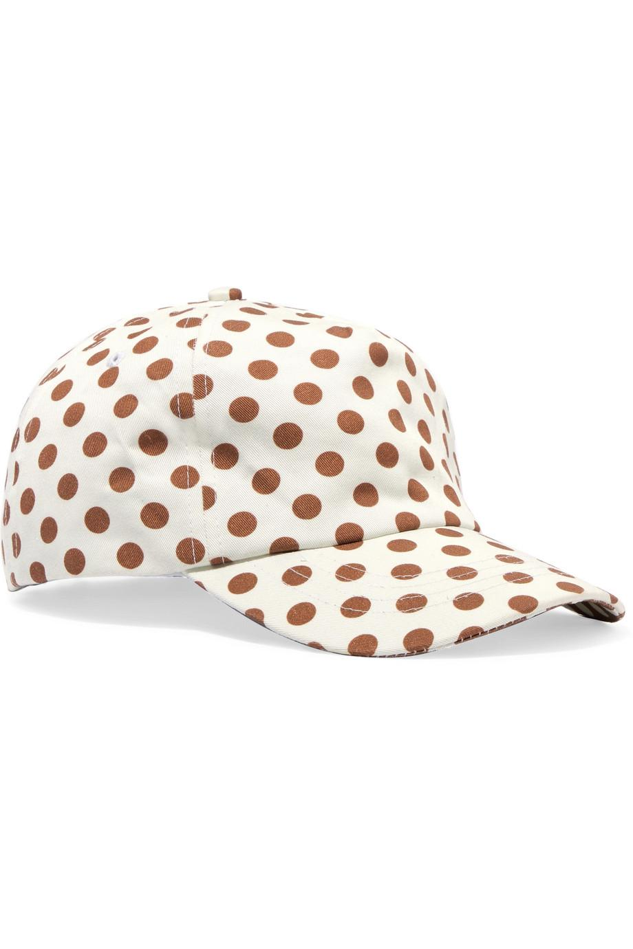 Exclusive Polka-dot Cotton-twill Baseball Cap - White Zimmermann EgVVcMP0d