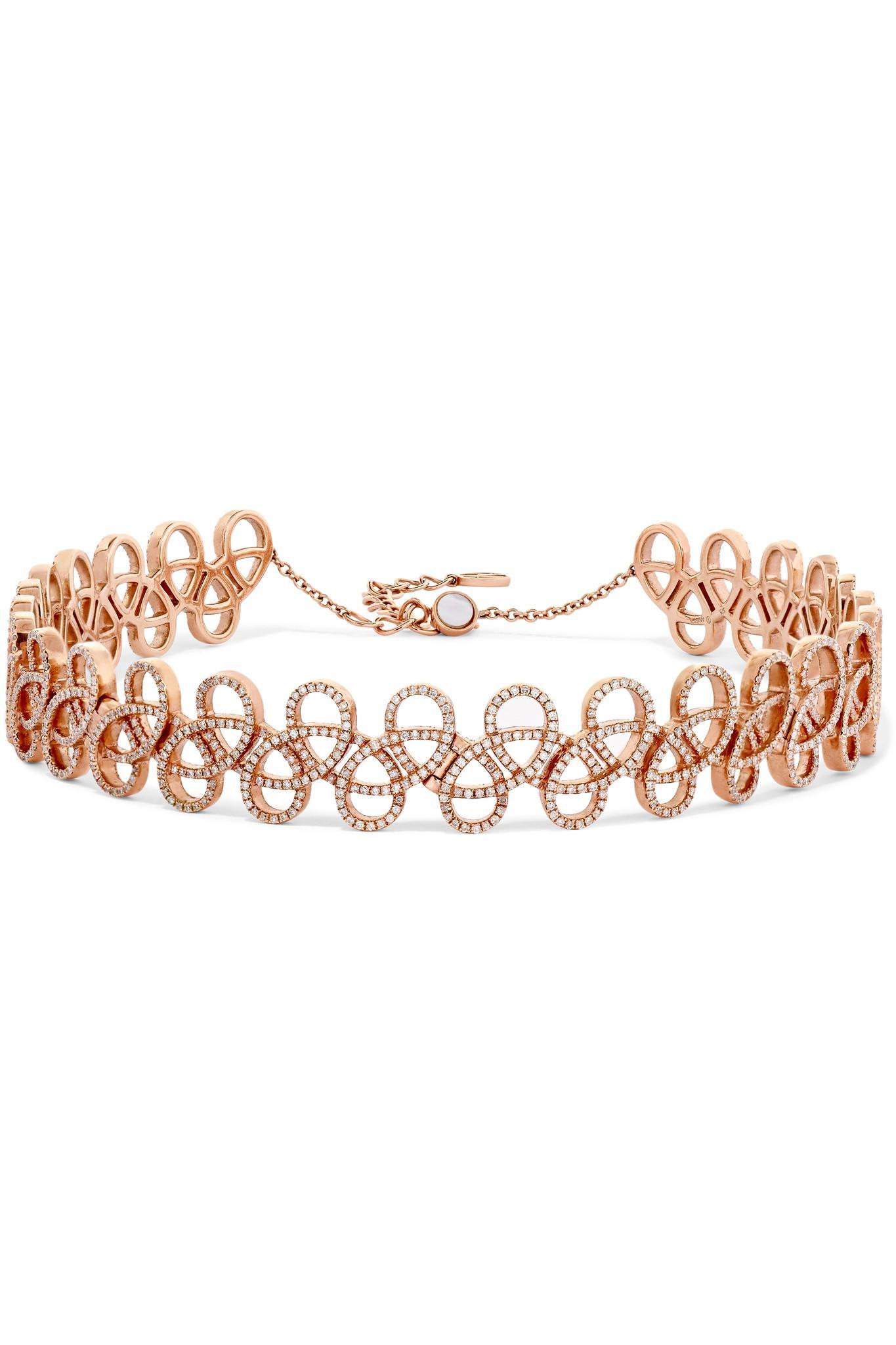 Anissa Kermiche Tatouage 9-karat Gold Diamond Ring BCmCy6