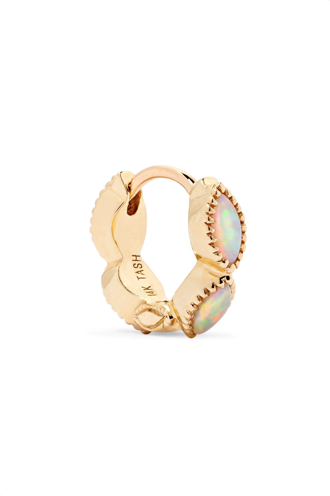 Maria Tash Invisible Eternity 18-karat Gold Diamond Earring lBkgAInD