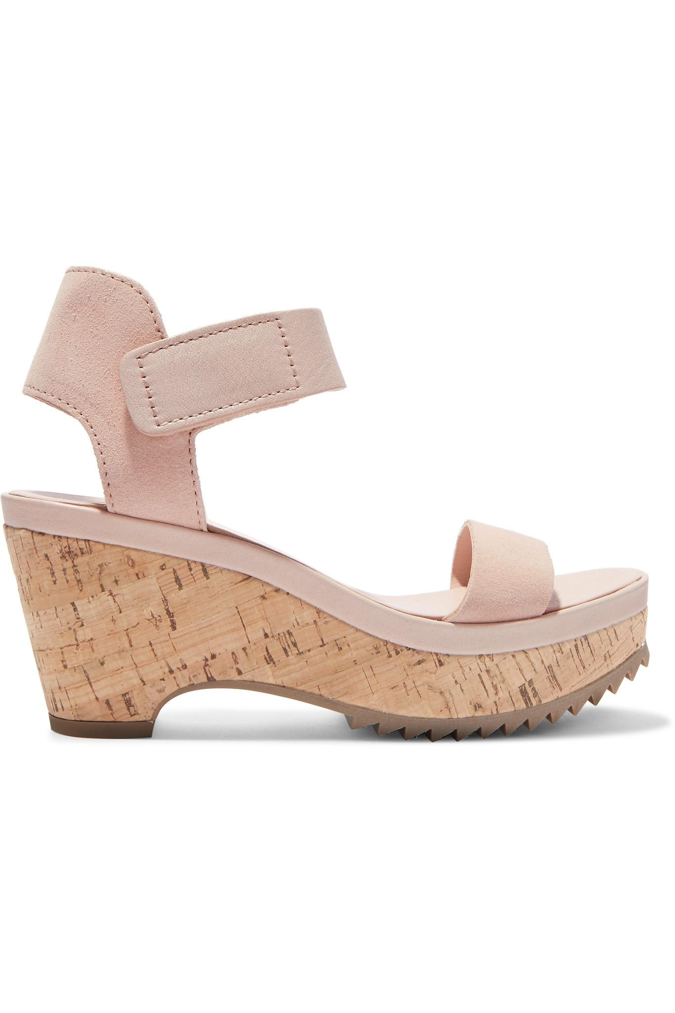 a38def8fb3c Pedro Garcia. Women s Franses Suede Wedge Sandals