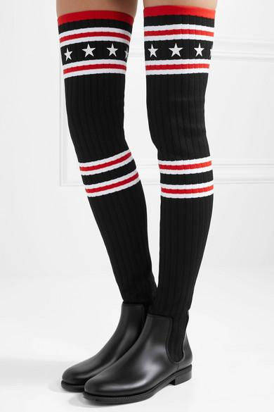 Givenchy Rubber Knitted Over-the-knee