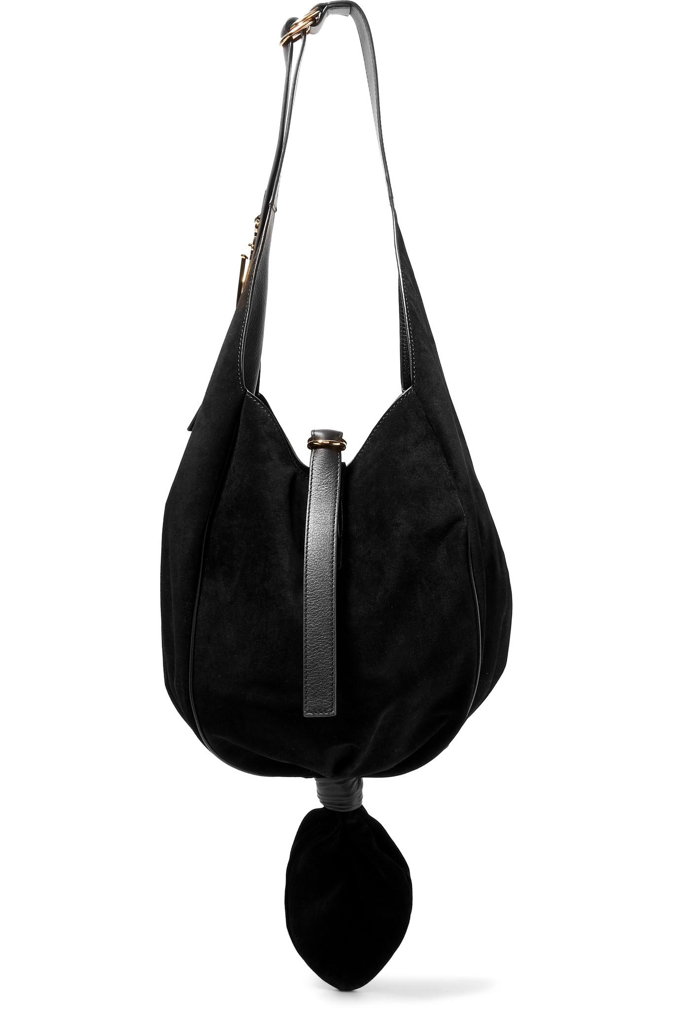The Knot Logo Hobo Bag - Only One Size / Black J.W.Anderson Clearance Excellent Outlet Sale CYdJS
