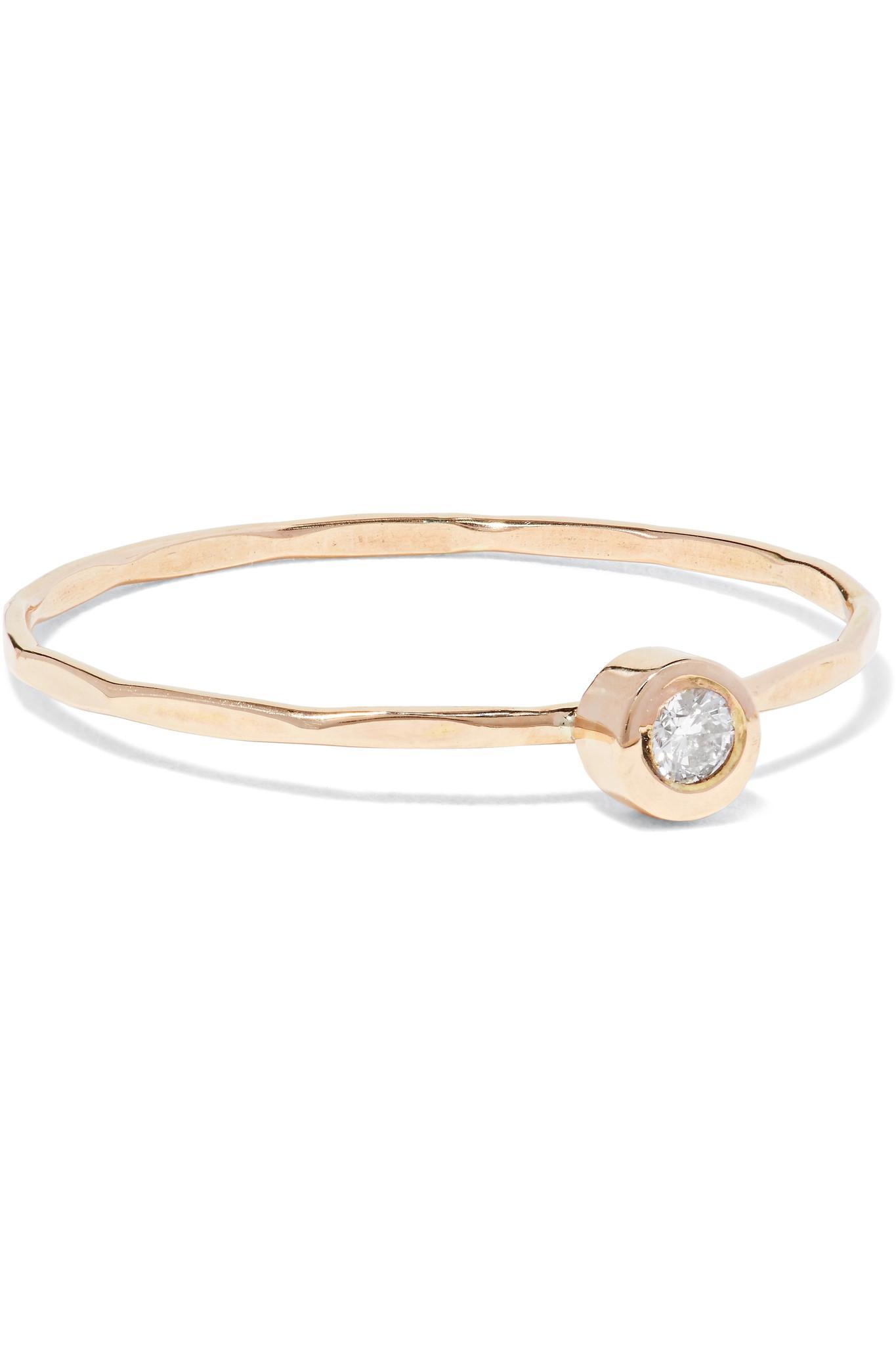 Melissa Joy Manning 14-karat Gold Diamond Ring Xhjv6hRR