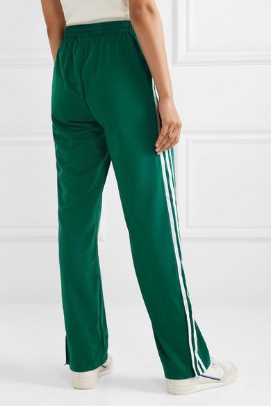 adidas Originals Firebird Striped Tech-jersey Track Pants in ...