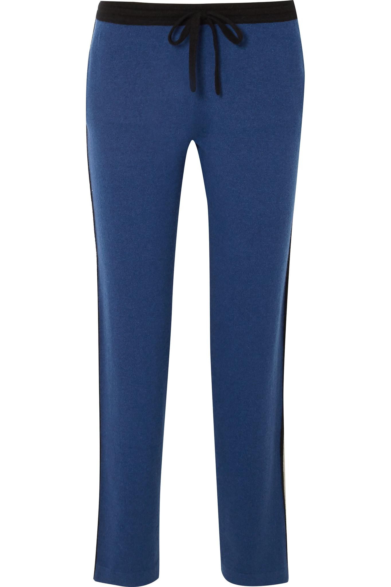 Cashmere Track Pants - Blue Allude Sale Authentic NfcqxWQL