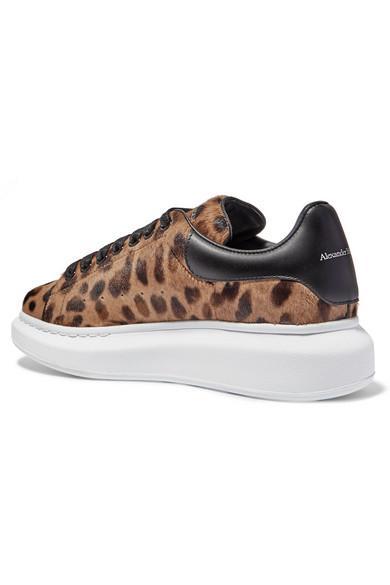 Alexander McQueen Leopard-print Calf