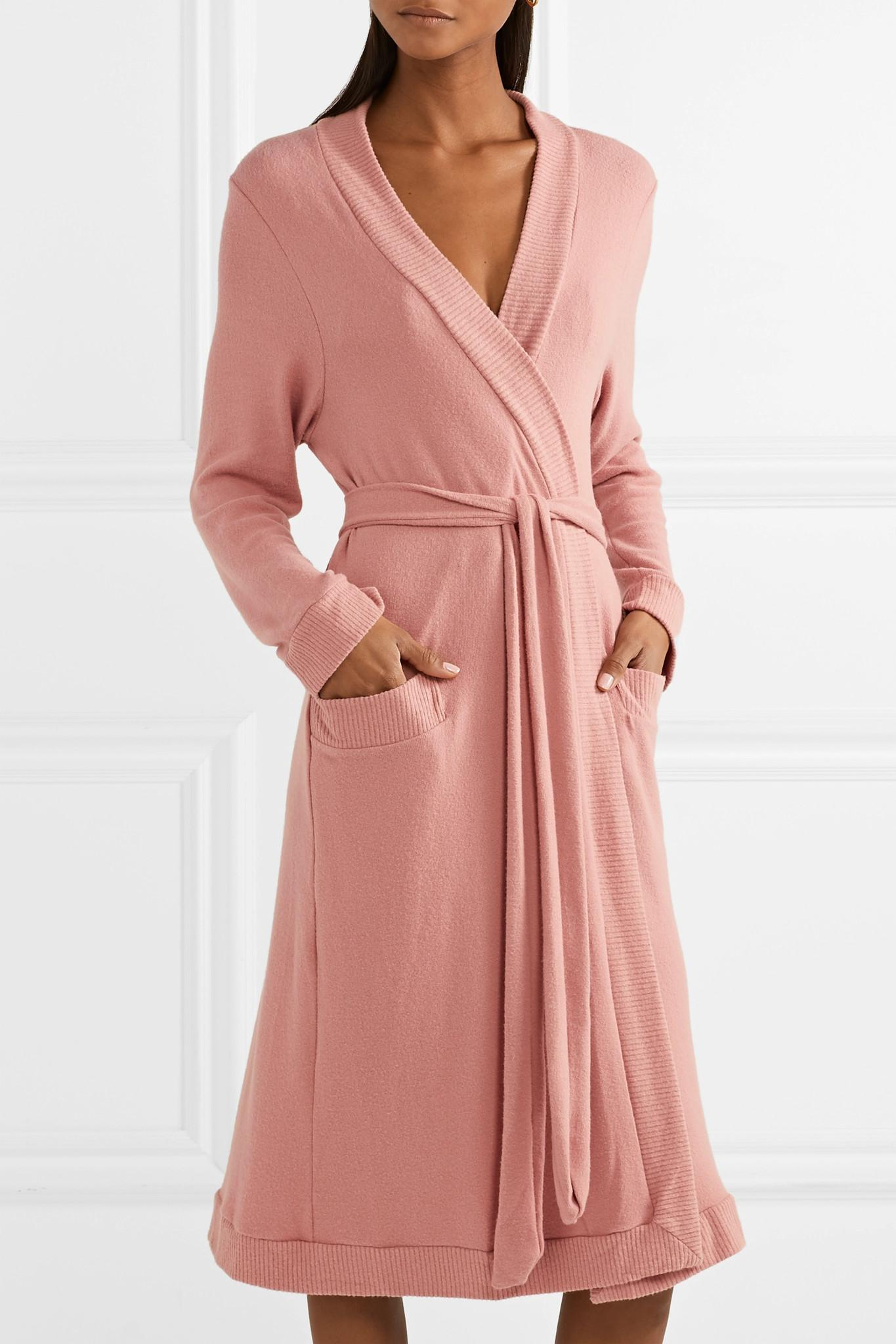106c65a902 Lyst - Eberjey Cozy Time Modal-blend Robe in Pink