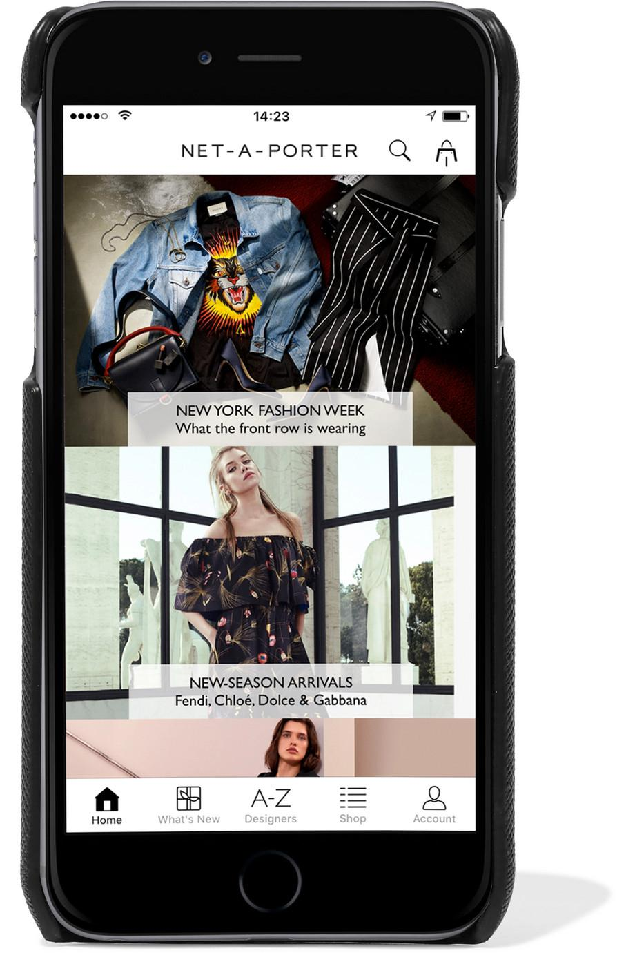 Fendi Mania - Custodia Per Iphone X In Pelle - Fendi mytheresa.com