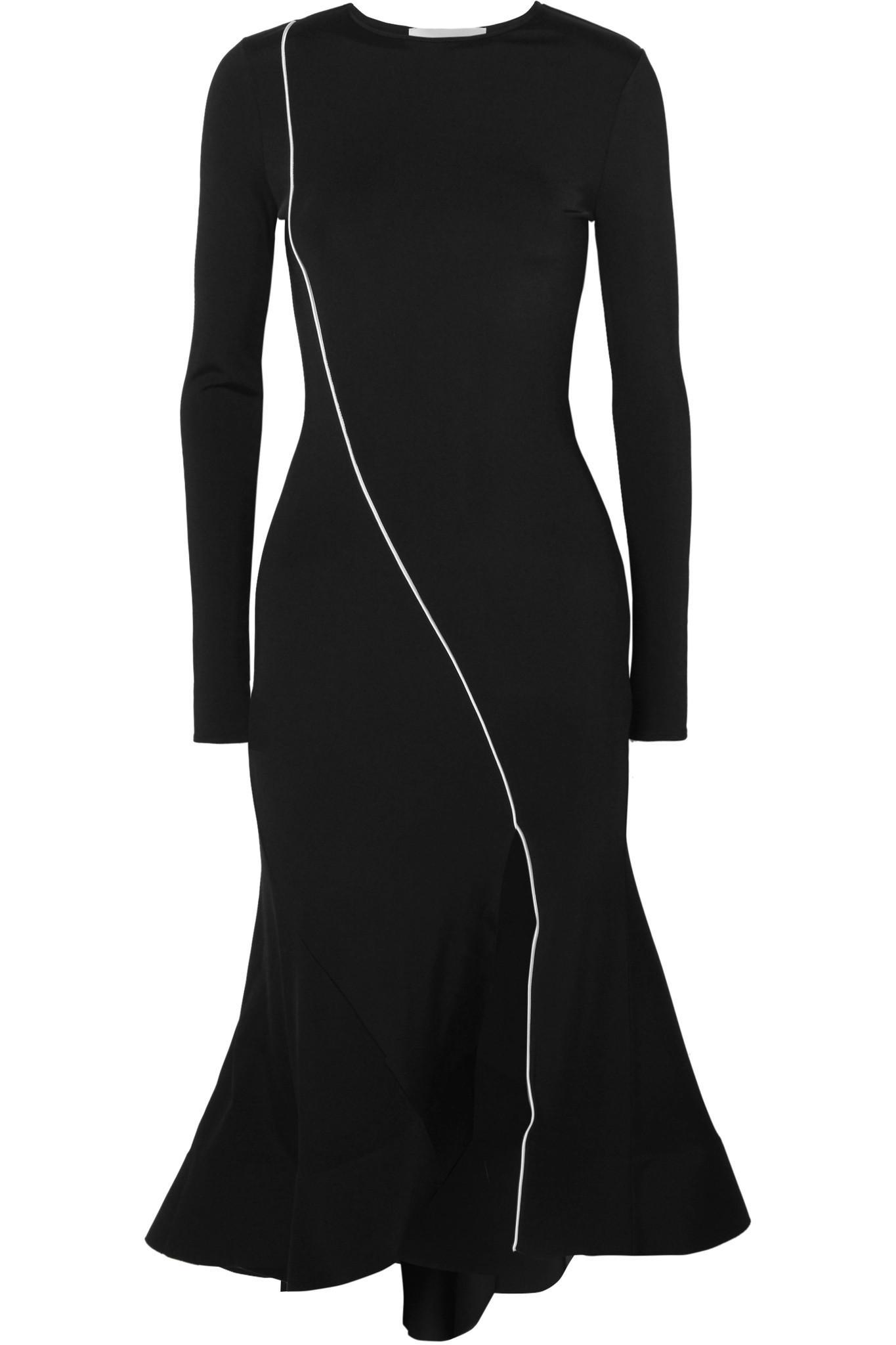 Surf Stretch-jersey Midi Dress - Black Esteban Cortazar bHoDsa6