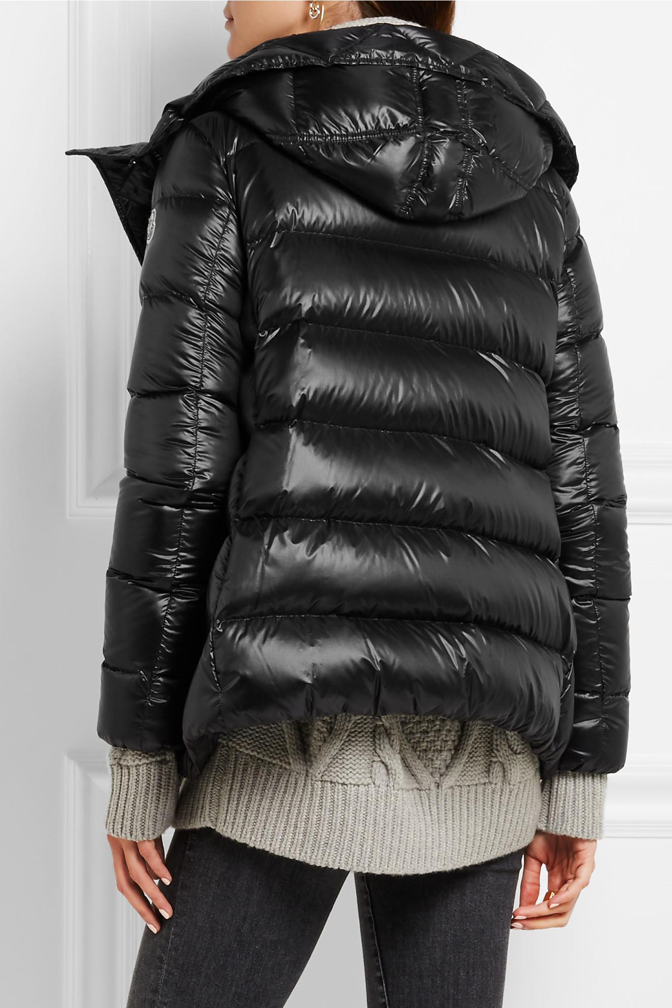 Moncler Serinde Quilted Shell Down Jacket in Black - Lyst