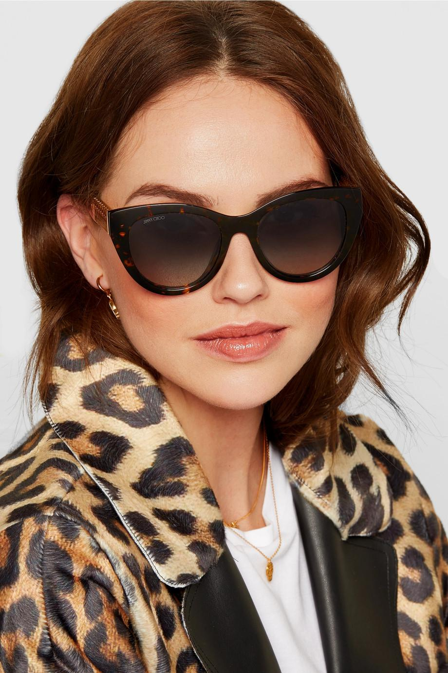 Jimmy choo Embellished cat eye sunglasses ihROm6gqfZ