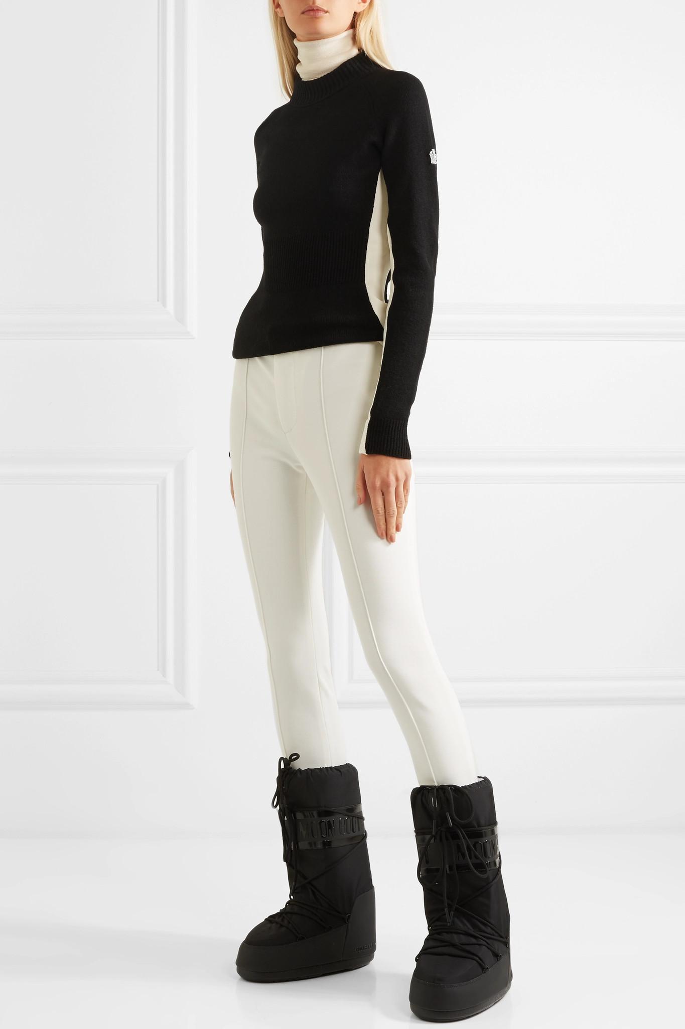 Moncler Grenoble - White Stretch-twill Stirrup Ski Pants - Lyst. View  fullscreen 70d78cac8