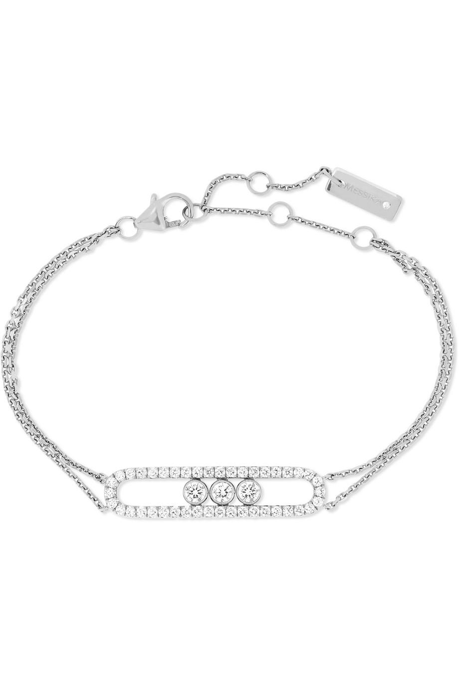 Grace Lee Designs Diamond Dot 14-karat Gold Diamond Bracelet I4UR9fnEx