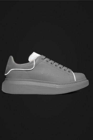 alexander mcqueen reflective sneakers