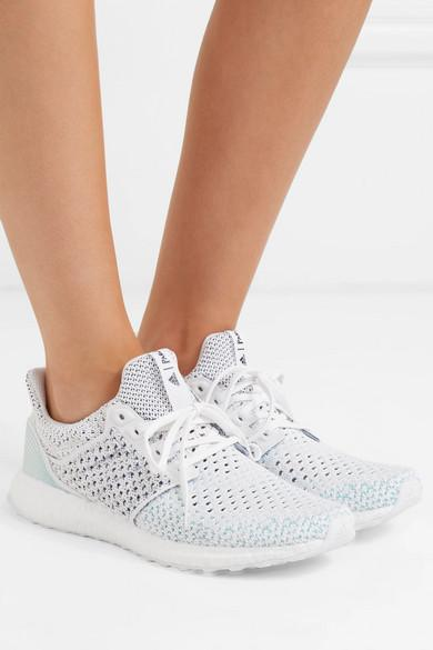 adidas Originals + Parley Ultra Boost Clima Primeknit Sneakers in Grey
