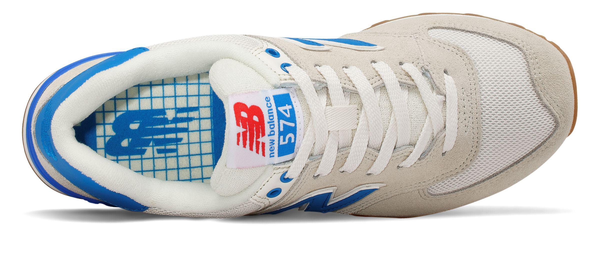 sports shoes 7608f 6070e New Balance Blue 574 Retro Sport for men