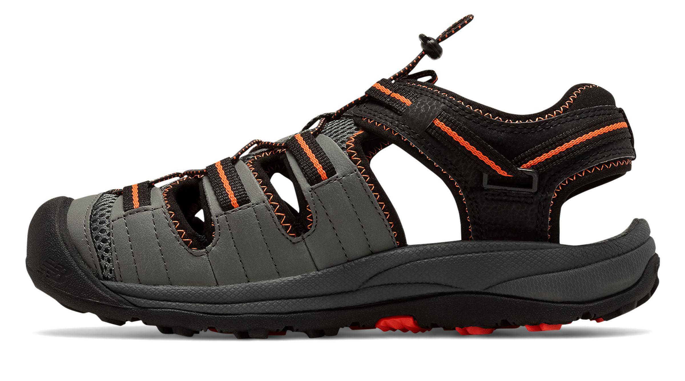 b225ce11f5ea1 New Balance - Black Appalachian Sandal for Men - Lyst. View fullscreen