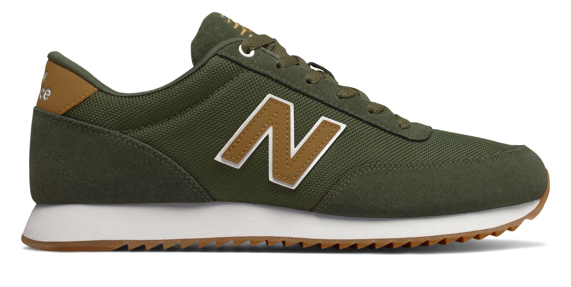 New Balance Rubber 501 Sneaker in Green for Men - Lyst