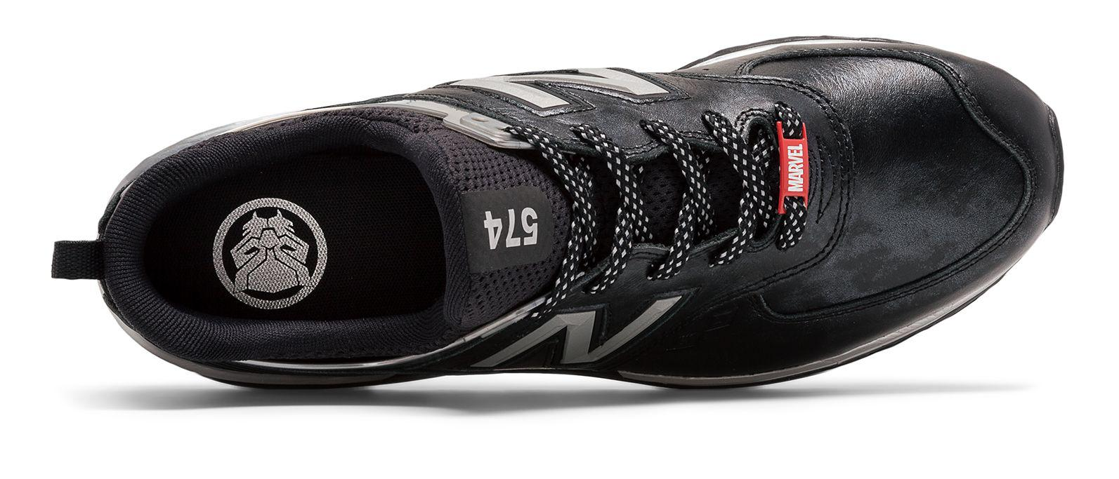 detailed look 6eb1b a8019 New Balance 574 Sport Black Panther for men