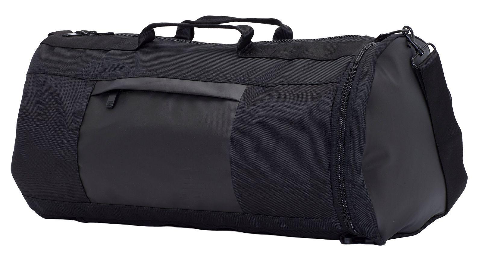 Lyst - New Balance Omni Convertible Duffel in Black for Men d3d2b56fef78e