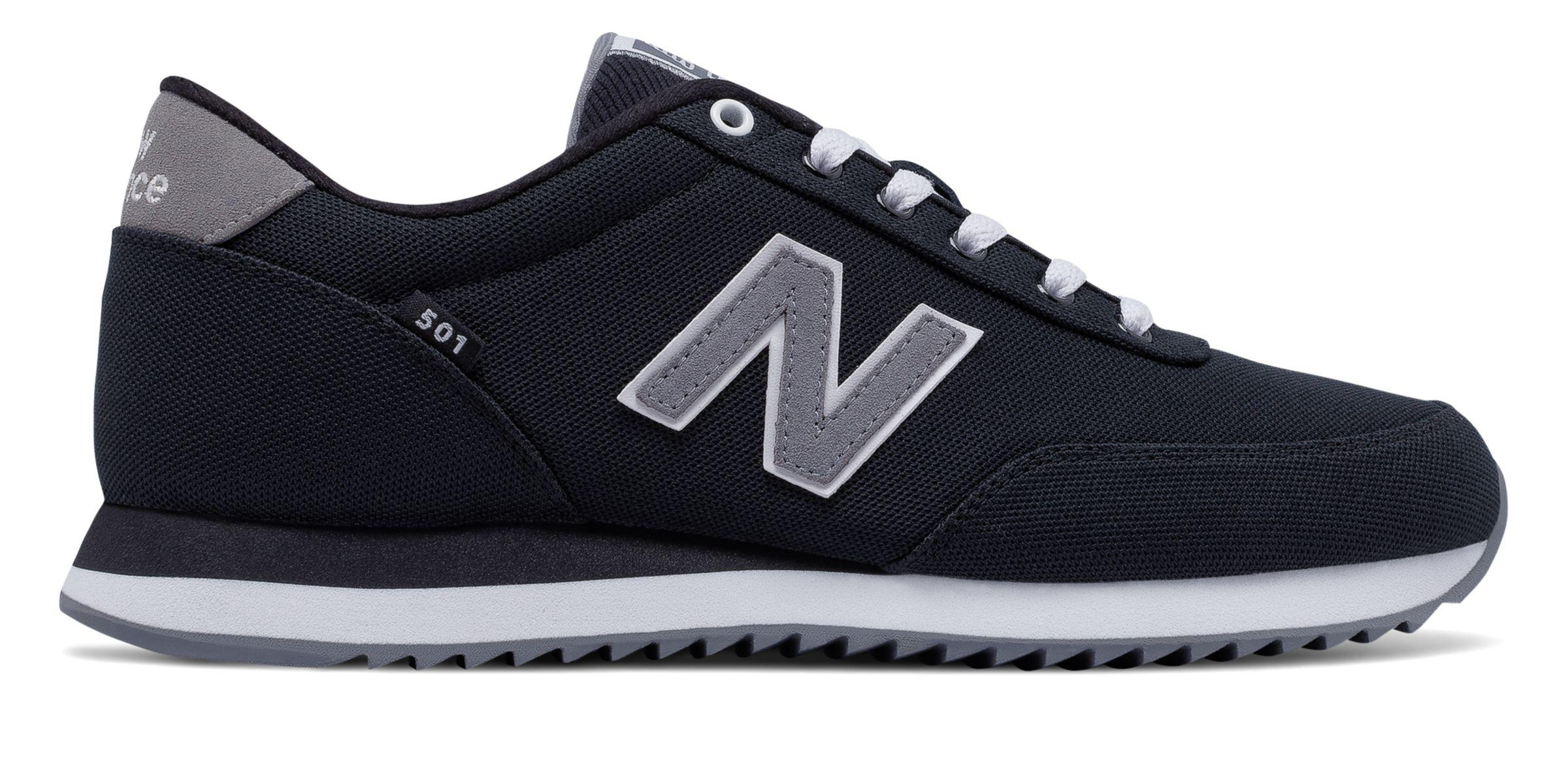 New Balance Rubber 501 Ripple Sole in Black for Men - Lyst