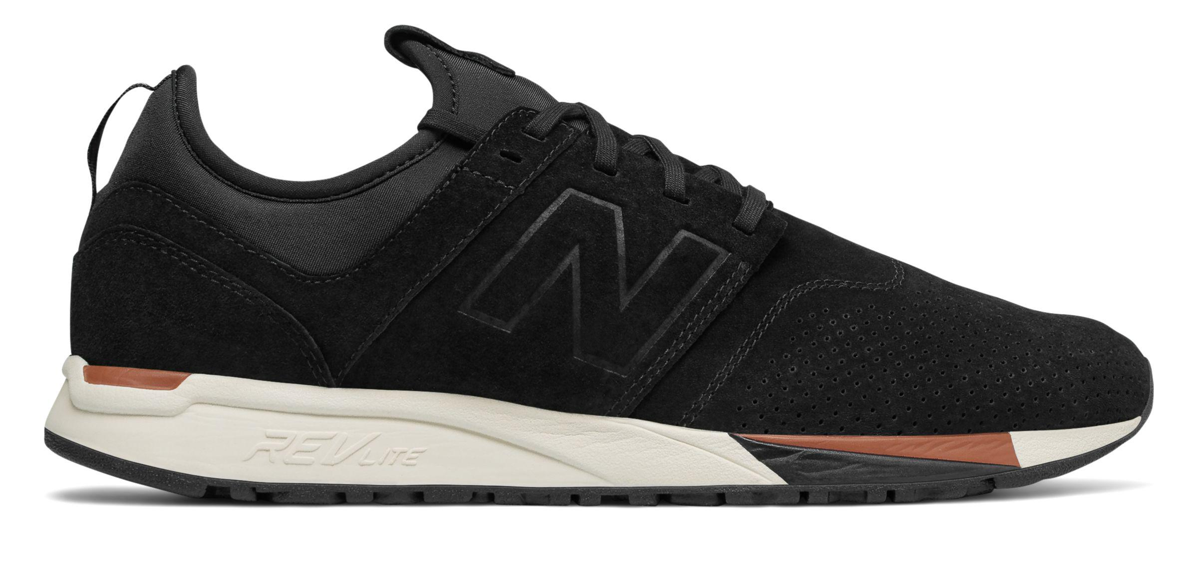 New Balance Suede Mrl 247 Wu in Black for Men - Lyst