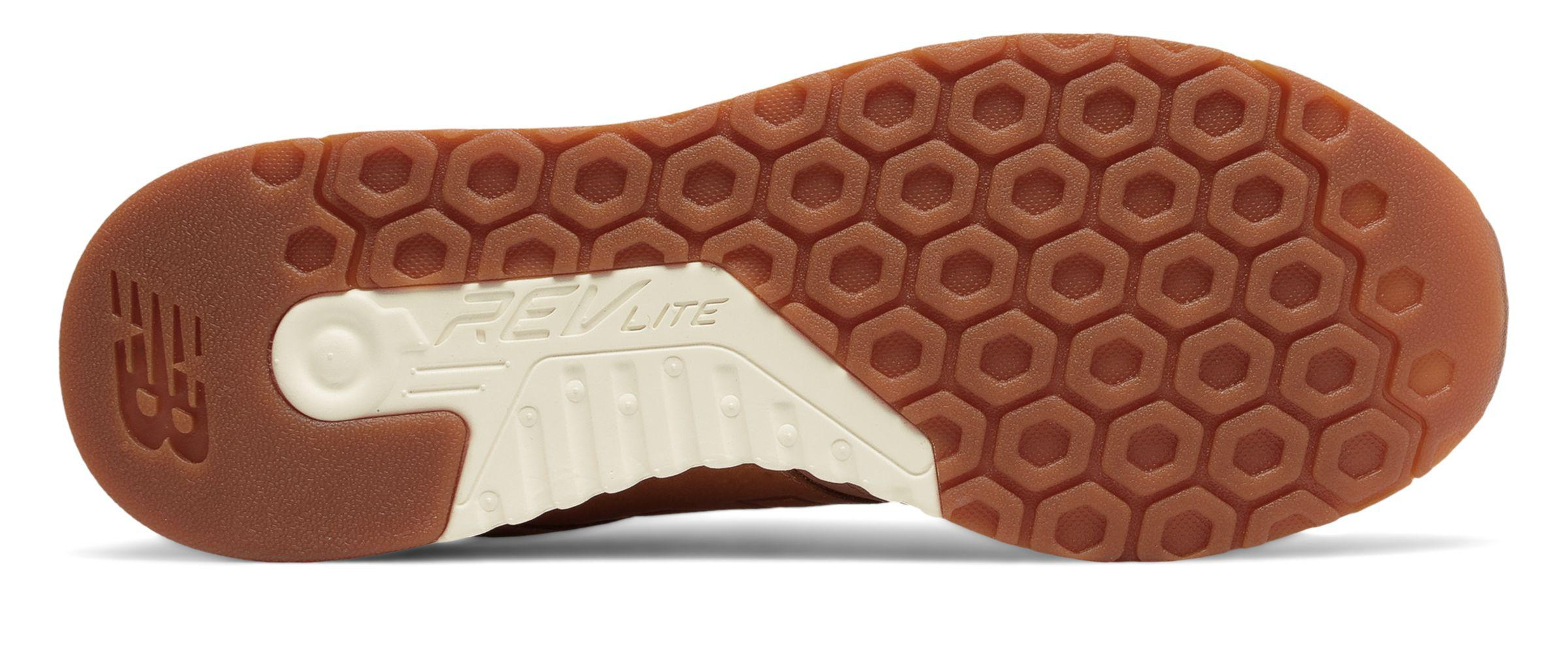 New Balance Leather 247 Luxe in Brown for Men - Lyst