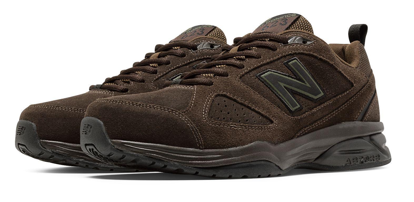 New Balance. Men's Brown 623v3 Suede Trainer