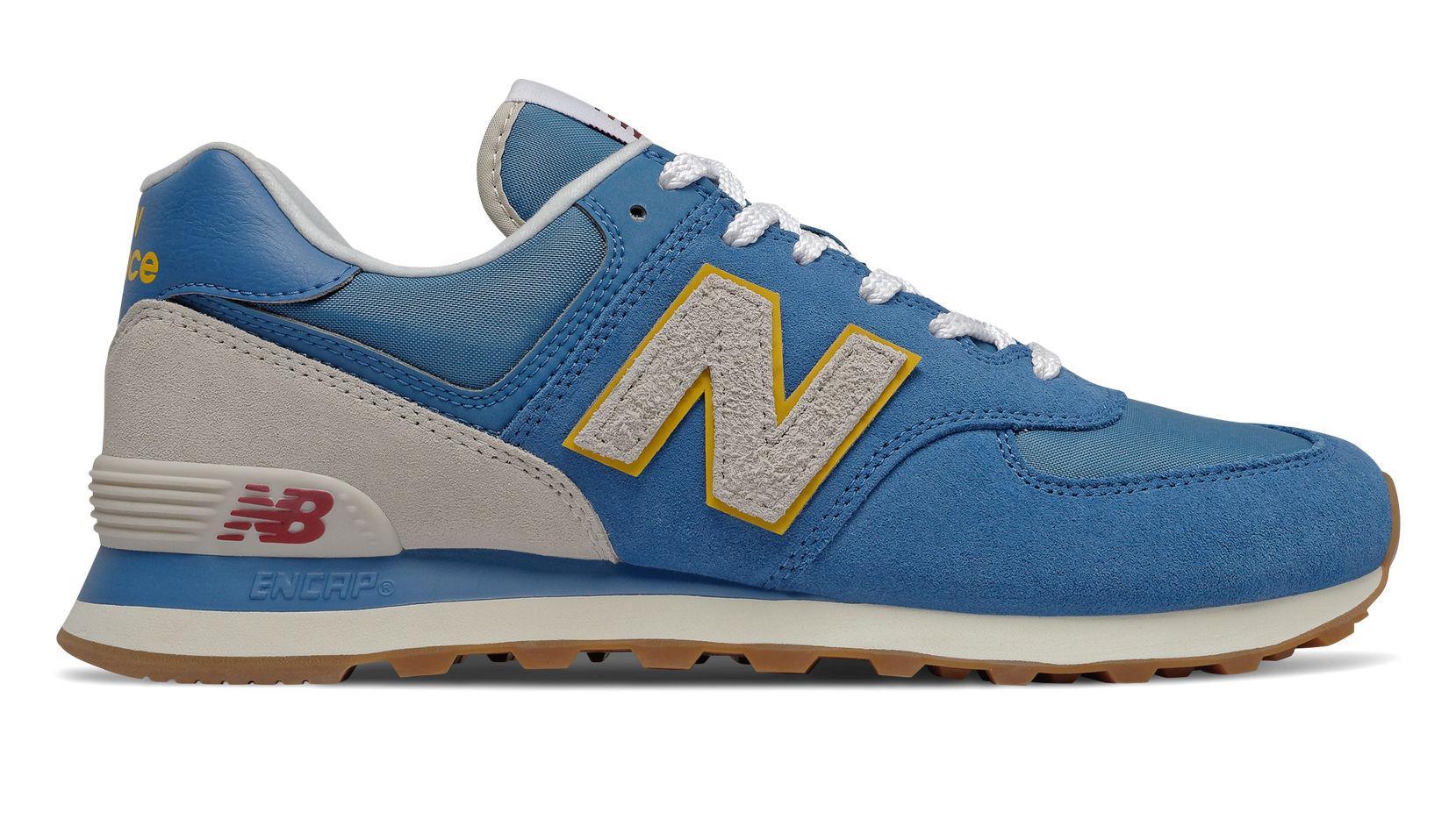 Hommes 574 New Balance pour homme en coloris Bleu - Lyst