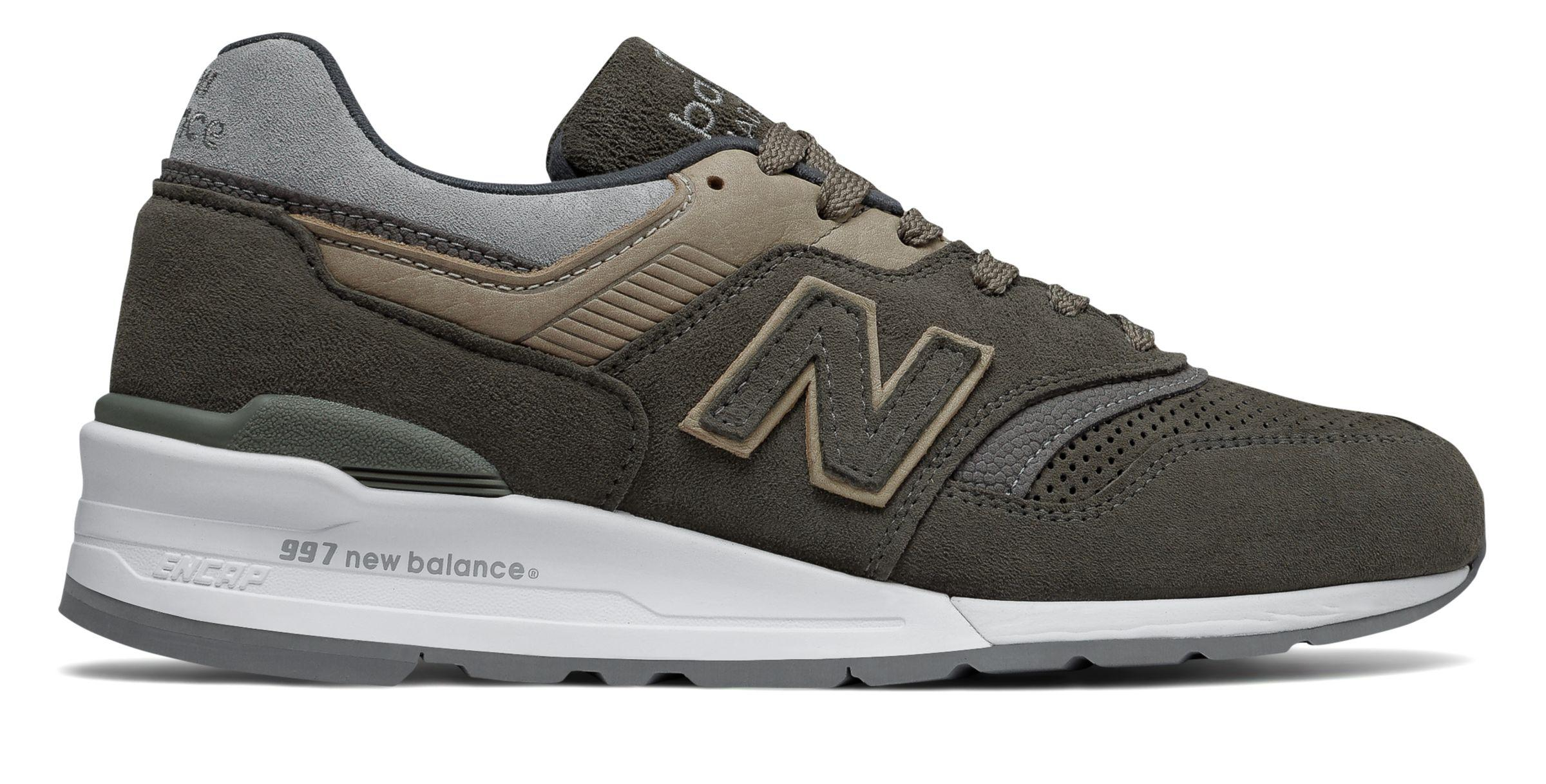 9b38168047a New Balance Gray New Balance 997 Winter Peaks Shoes for men
