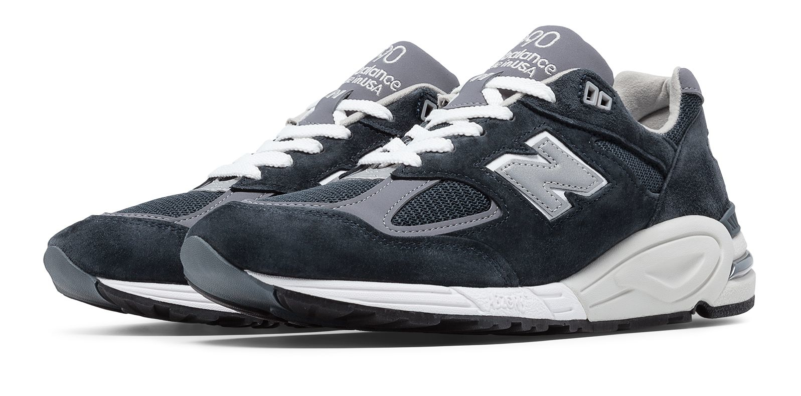 purchase cheap 5fd94 9317d Men's Blue 990v2 Made In The Usa Bringback