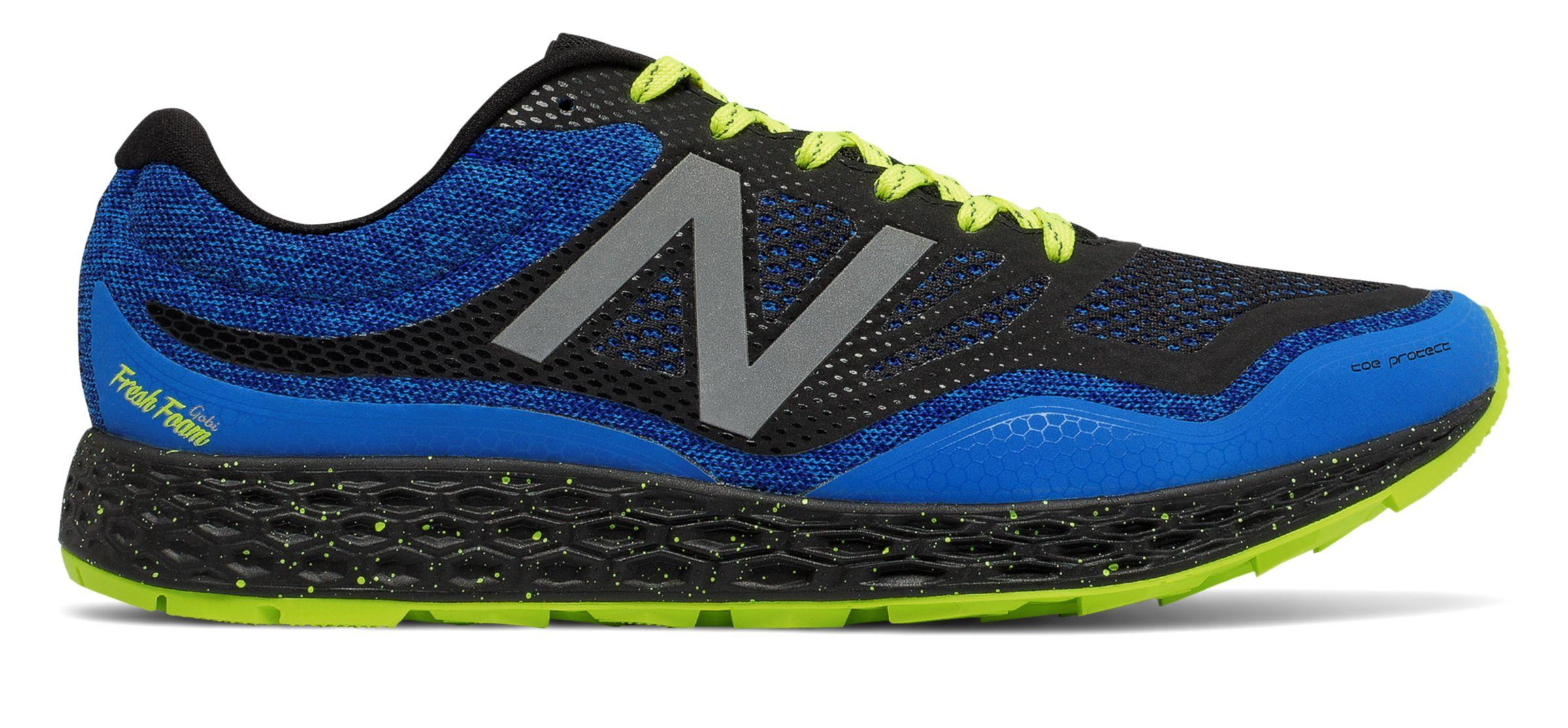 53c53279180 Lyst - New Balance Fresh Foam Gobi Trail in Blue for Men