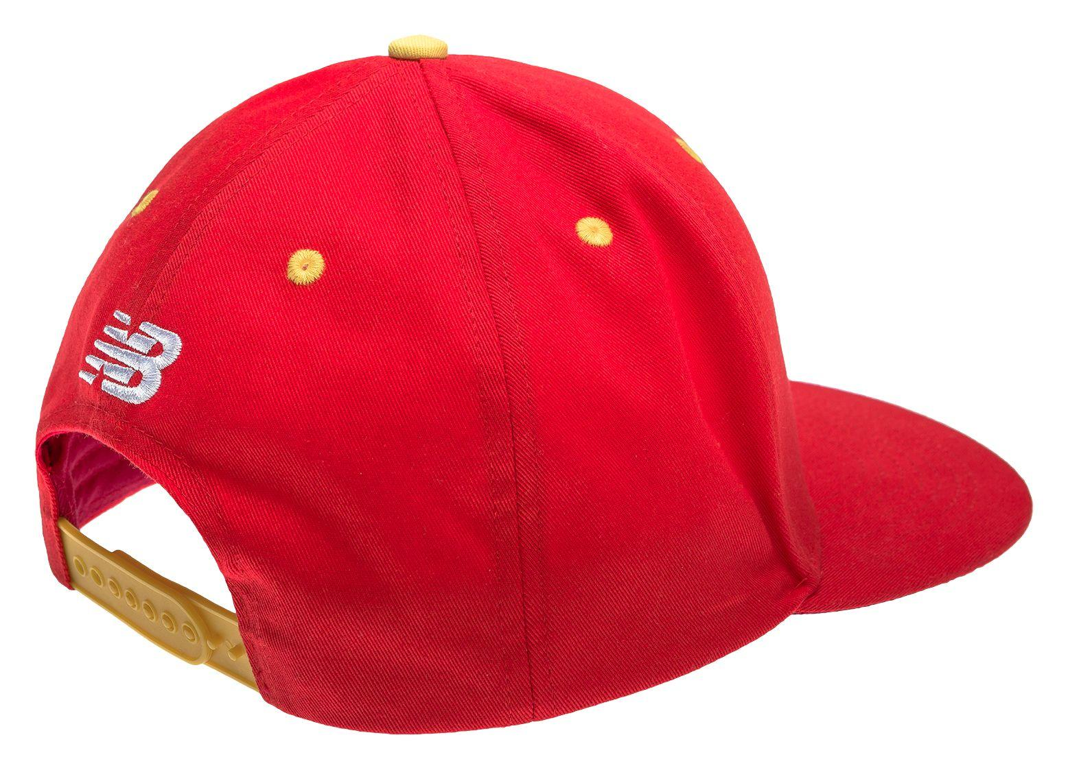 a3c2d25879d Lyst - New Balance Lfc Kop Cap in Red for Men