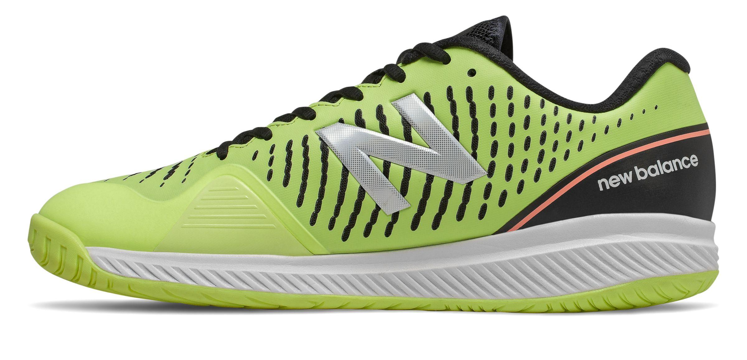 New Balance Synthetic Padel 796v2 Tennis Shoes in Green/Black/Pink ...