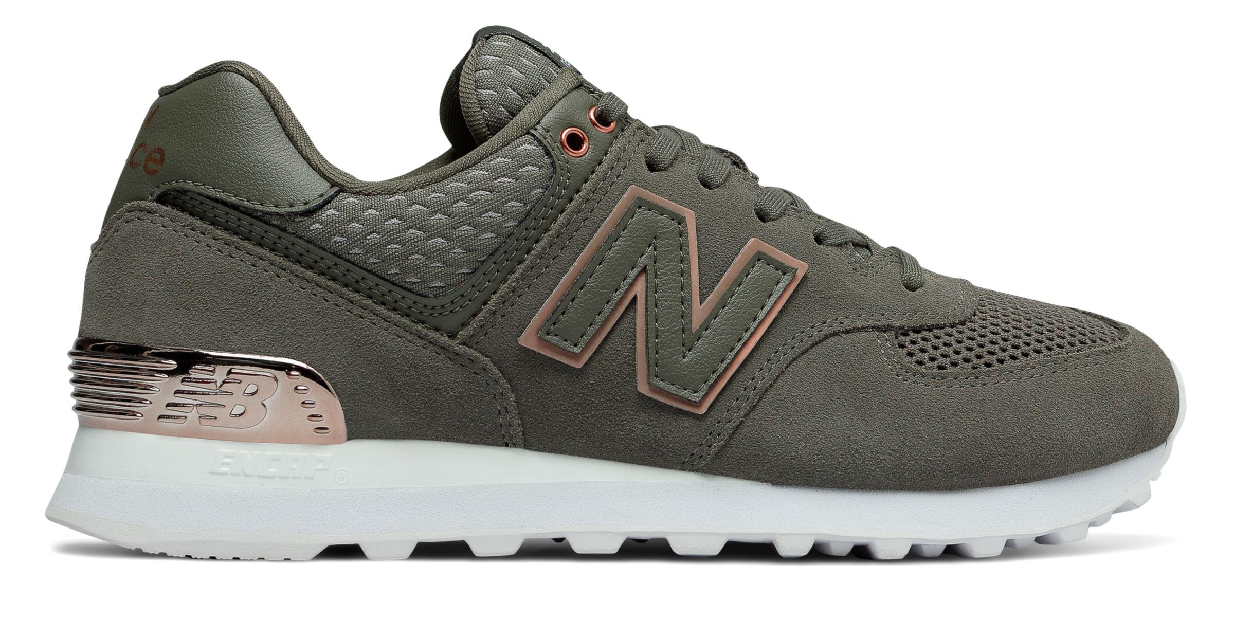 new balance 574 donna all day rose