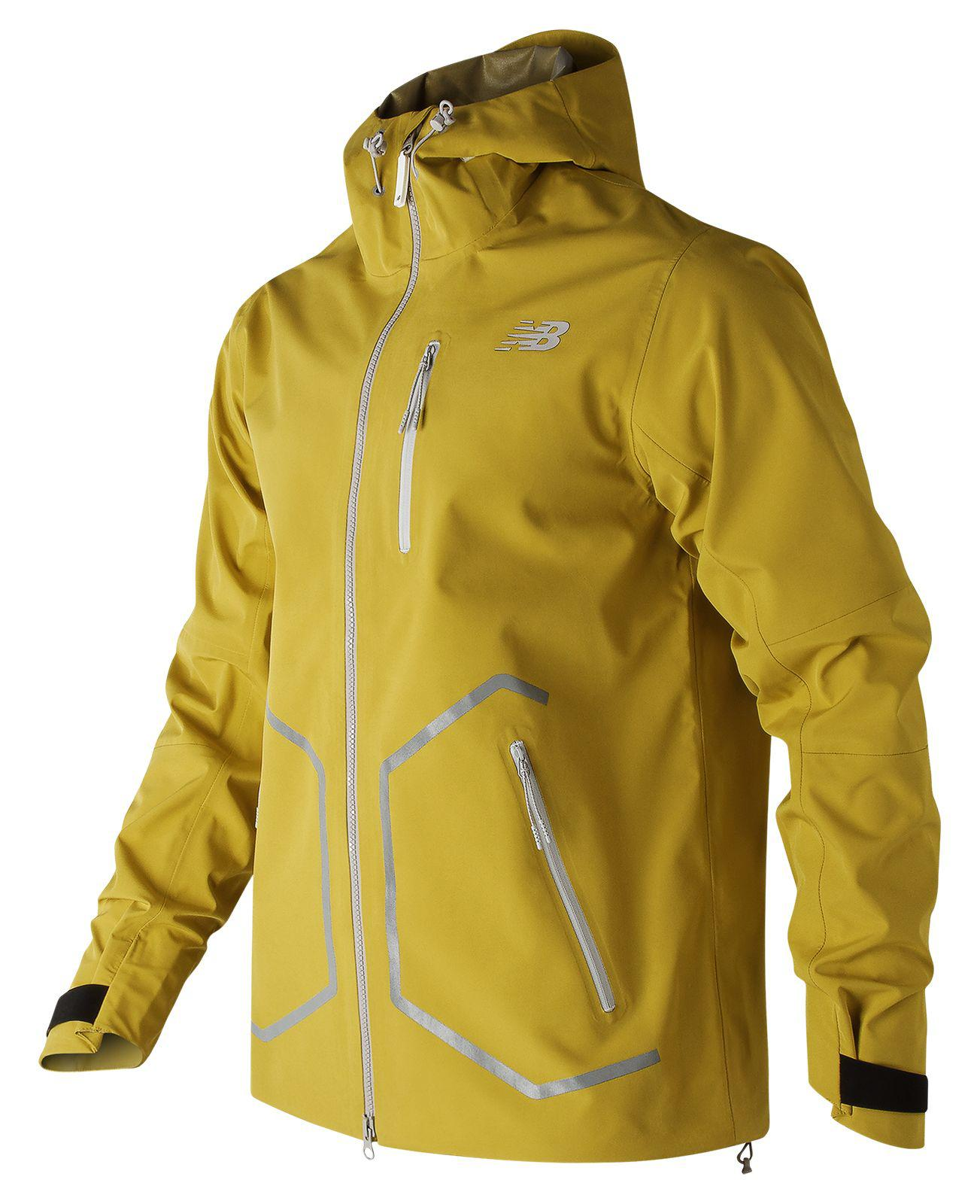3de5dd38f44ff New Balance 247 Luxe Jacket in Yellow for Men - Lyst